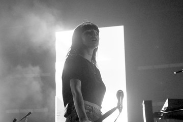 Lauren Mayberry Chvrches And Wolf Alice In Concert At Brooklyn Bowl Las Vegas