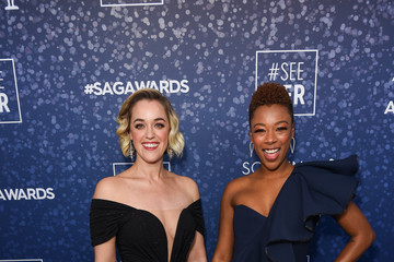 Lauren Morelli SeeHer Red Carpet Platform At The 26th Annual Screen Actors Guild Awards