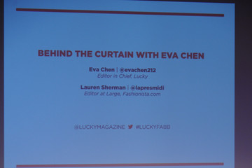 Lauren Sherman Lucky Magazine's FABB Conference in NYC