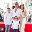 Lauren Silverman Simon Cowell Honored With Star On The Hollywood Walk Of Fame