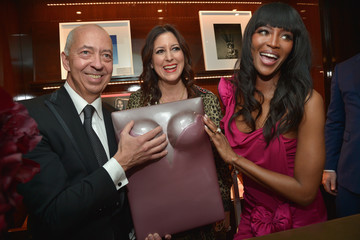 Lauren Taschen Naomi Campbell and Benedikt Taschen Celebrate The Los Angeles Launch of 'Naomi' at Taschen Beverly Hills