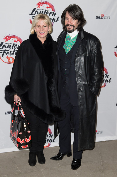 Magical Lantern Festival VIP Launch [clothing,outerwear,event,costume,fashion design,england,london,chiswick house and gardens,vip launch,magical lantern festival,vip launch,jackie bowen,laurence llewelyn-bowen]