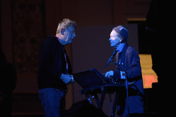 Laurie Anderson Tibet House US 30th Anniversary Benefit Concert & Gala Celebrating Philip Glass's 80th Birthday - Rehearsal