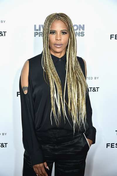 'Can't Stop, Won't Stop: The Bad Boy Story' Premiere - 2017 Tribeca Film Festival [cant stop wont stop: the bad boy story premiere,hair,hairstyle,dreadlocks,long hair,beauty,fashion,cornrows,shoulder,black hair,fashion design,laurieann gibson,new york city,tribeca film festival]
