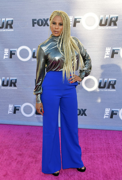 Season Finale Viewing Party For FOX's 'The Four' - Arrivals [the four,season finale,red carpet,carpet,clothing,flooring,electric blue,blond,hairstyle,fashion,premiere,long hair,arrivals,laurieann gibson,delilah,viewing party,west hollywood,california,season finale viewing party for fox]