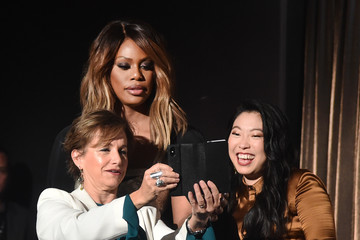 Laverne Cox Awkwafina 2018 Getty Entertainment