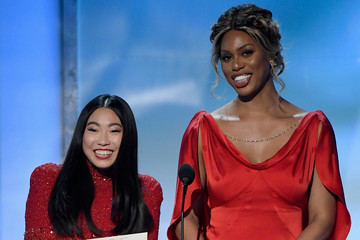 Laverne Cox Awkwafina 25th Annual Screen ActorsGuild Awards - Show
