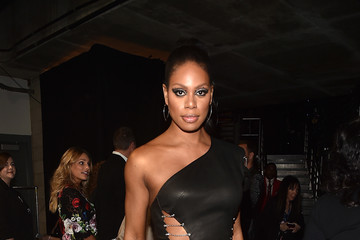 Laverne Cox The 59th GRAMMY Awards -  Backstage