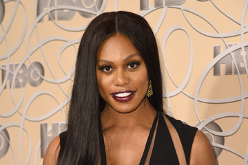 Laverne Cox HBO's Official Golden Globe Awards After Party - Red Carpet