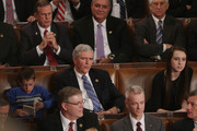 Rep. Daniel Webster (R-FL) (C) votes for himself during a roll call vote for the Speaker of the House inside the House of Representatives chamber at the U.S. Capitol January 6, 2015 in Washington, DC. Webster won 12 votes during his unsuccessful challenge of Speaker of the House John Boehner (R-OH).