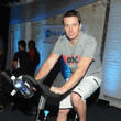 Lawrence Tynes The Flywheel Challenge At The NFL House Hosted By Shannon Sharpe