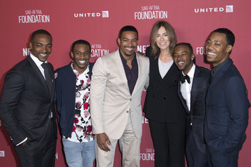 Laz Alonso Algee Smith Various Photos From Various Events