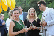 Garance Doré (L), founder of Atelier Doré, celebrates Au Soleil:A Summer Soirée by Le Méridien – a global programme that brings the playful glamour of 1960s European Summers to Le Méridien hotels around the world, on July 12, 2018 in Beverly Hills, California.