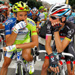 Frank Schleck and Ivan Basso Photos