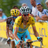 Jean-Christophe Peraud Photos - Vincenzo Nibali of Italy and the Astana Pro Team defends the overall race leader's yellow jersey as he leads Jean-Christophe Peraud of France and AG2R La Mondiale on the climb to the finish during the fourteenth stage of the 2014 Tour de France, a 177km stage between Grenoble and Risoul, on July 19, 2014 in Risoul, France. - Le Tour de France 2014 - Stage Fourteen