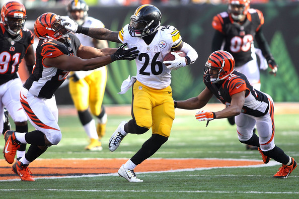 Steelers running back Le'Veon Bell vs Cincinnati Bengals (2014)