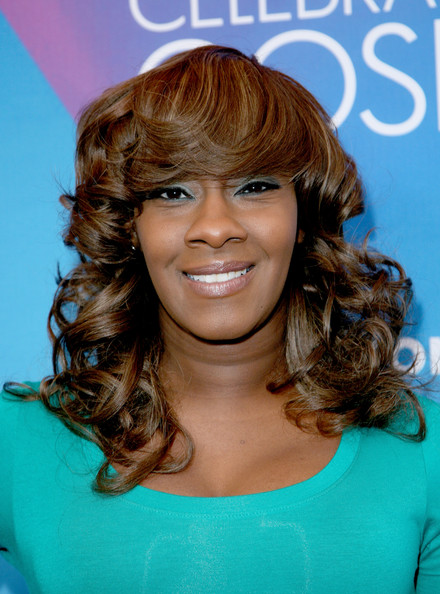 Singer Le'Andria Johnson attends the BET Celebration of Gospel 2013