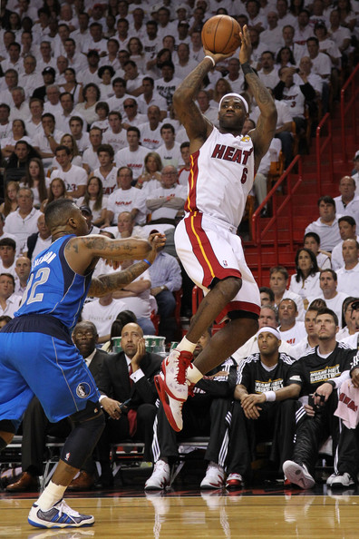 Athletes Photos Gallery: Miami Heat vs. Dallas Mavericks: NBA Finals, Game 1