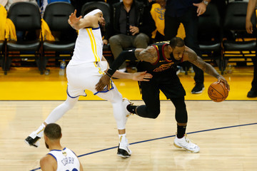 LeBron James Javale Mcgee 2018 NBA Finals - Game One