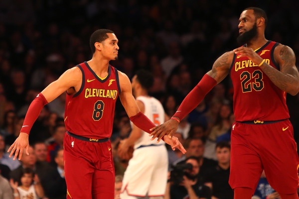 ef0c8c28ca0 ... germany lebron james and jordan clarkson photosphotostream pictures.  cleveland cavaliers v new york knicks 4fc5c