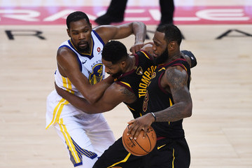 LeBron James Kevin Durant 2018 NBA Finals - Game One