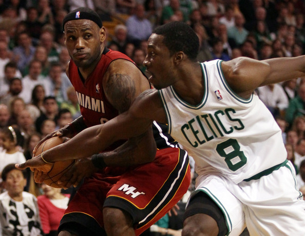 LeBron James - Miami Heat v Boston Celtics- Game Three