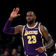 LeBron James Golden State Warriors vs Los Angeles Lakers