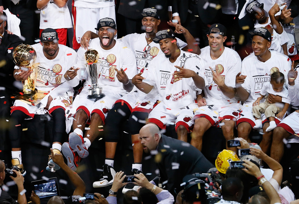 The Miami Heat win the 2013 NBA Championship – Tis The SZN
