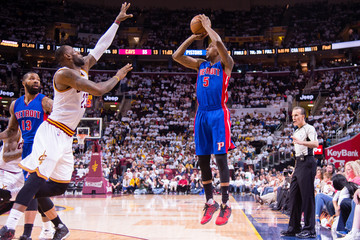 LeBron James Detroit Pistons v Cleveland Cavaliers - Game Two