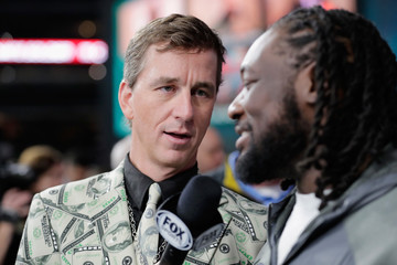 LeGarrette Blount Super Bowl Opening Night at Minute Maid Park