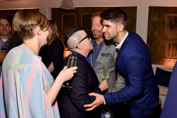 Lea DeLaria Chelsea Fairless 2015 Entertainment Weekly Pre-Emmy Party - Inside