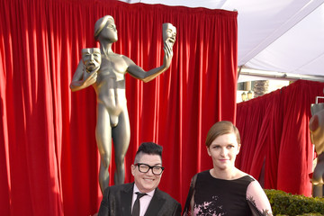 Lea DeLaria Chelsea Fairless The 22nd Annual Screen Actors Guild Awards - Red Carpet