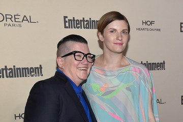 Lea DeLaria Chelsea Fairless 2015 Entertainment Weekly Pre-Emmy Party - Red Carpet