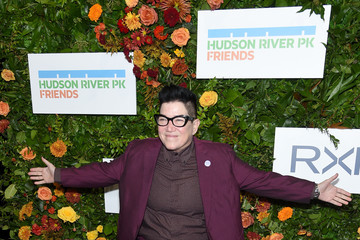 Lea DeLaria Jay Leno Hosts The 20th Anniversary Gala To Celebrate Hudson River Park - Arrivals