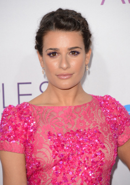 Lea Michele - 39th Annual People's Choice Awards - Arrivals