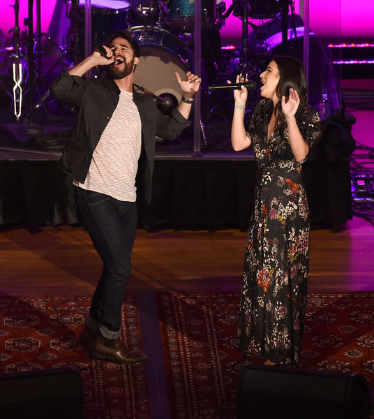 Lea Michele And Darren Criss Perform In Concert - Nashville, Tennessee