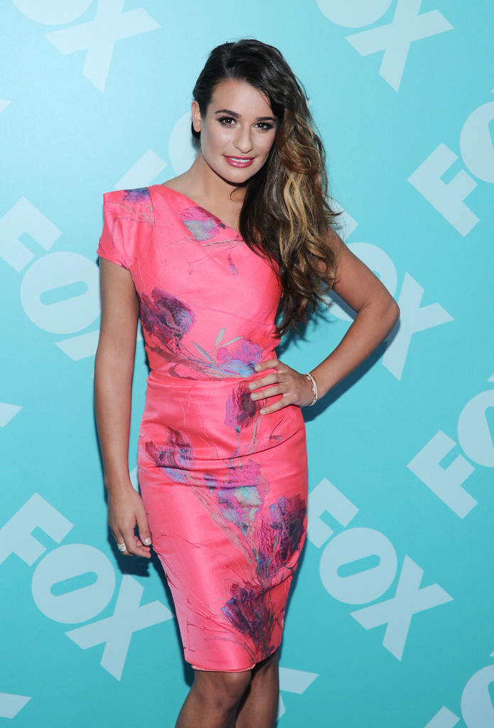 Lea Michele - FOX 2103 Programming Presentation Post-Party