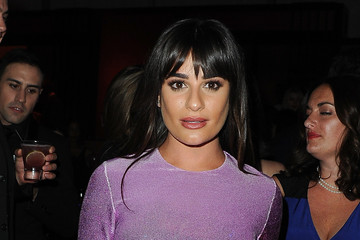 Lea Michele FOX And FX's 2017 Golden Globe Awards After Party - Inside
