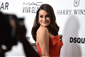 Lea Michele amfAR's Inspiration Gala Los Angeles - Red Carpet