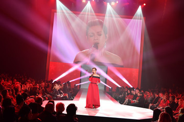 Lea Salonga The American Heart Association's Go Red For Women Red Dress Collection 2018 Presented By Macy's - Runway