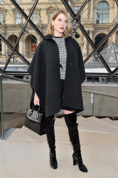 Lea Seydoux Photos Photos Louis Vuitton Front Row