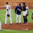 A. J. Hinch Charlie Morton Photos