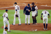 A. J. Hinch Charlie Morton Photos Photo