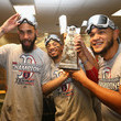 Eduardo Rodriguez and Mookie Betts Photos