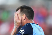 Luke Wilkshire of Sydney FC during the round 16 A-League match between Adelaide United and Sydney FC at Coopers Stadium on January 14, 2018 in Adelaide, Australia.