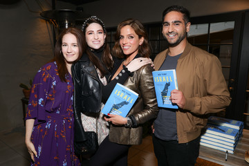 """Leah Lamar Alex Banayan Noa Tishby's """"ISRAEL: A simple Guide"""" Book Launch Event"""