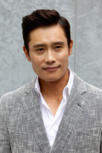 Lee Byung-Hun - Front Row at Giorgio Armani