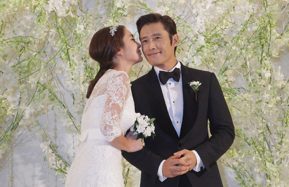 Lee Byung-Hun and Rhee Min-Jung - Lee Byung-Hun and Rhee Min-Jung Wedding