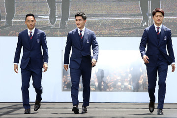 Lee Chung-Yong South Korea World Cup Team Sending Off Ceremony