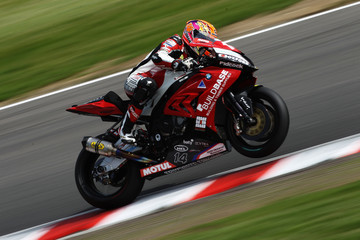 Lee Jackson British Superbike Championship Practice - Brands Hatch
